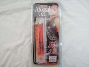 Feminine Arousal Gel, estimulante con L-Arginina sabor cereza