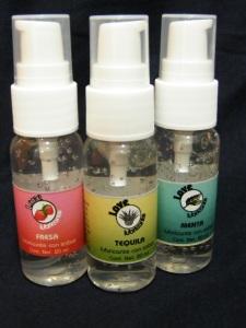 Lubricantes con sabor y aroma, para sexo oral, en supercondon.com.mx