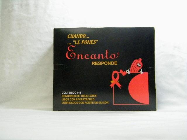 Condon clasico Encanto caja con 144
