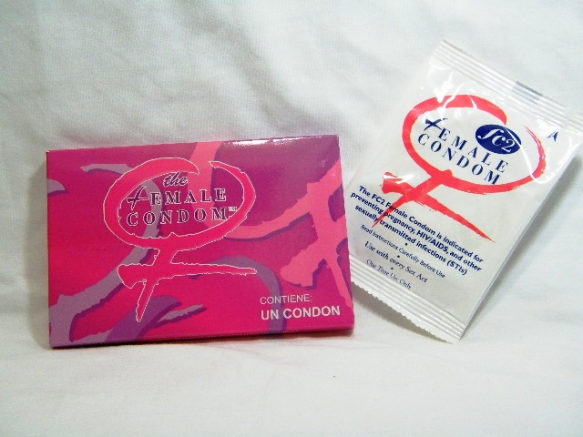 The female condom FC2 sobre y estuche 1 pieza condon femenino de nitrilo latex free sin latex supercondon.com.mx