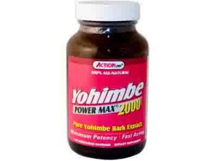 imagen tomada de internet de un producto extracto de yohimbina