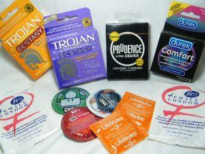 Condones extra grandes: Durex Comfort, Trojan Ecstasy, Prudence extra grande y algunos más, supercondonmx